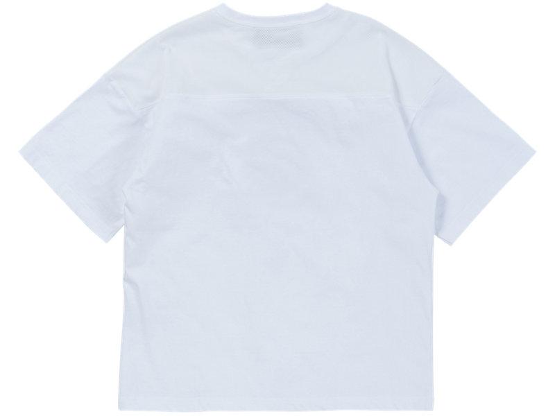 PRINTED T-SHIRT REAL WHITE/REAL WHITE 5 BK