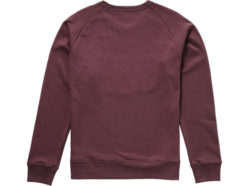 Patched Sweater BURGUNDY 5 BK