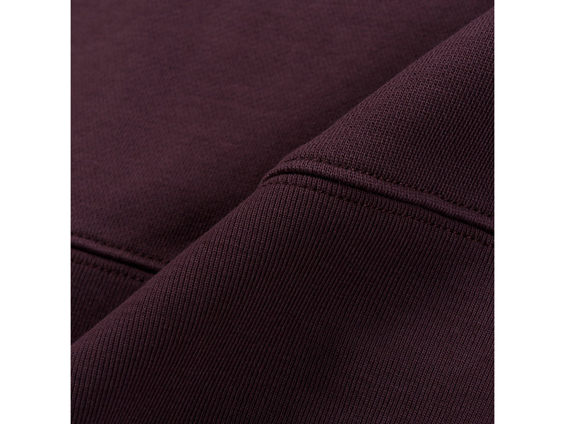 Patched Sweater BURGUNDY 13 Z