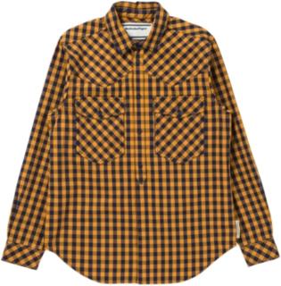 男格紋襯衫