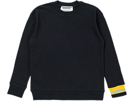 CREW NECK SWEAT, PERFORMANCE BLACK