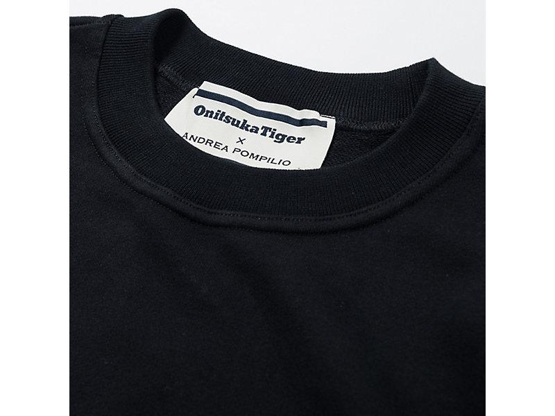 CREW NECK SWEATER PERFORMANCE BLACK 9 Z