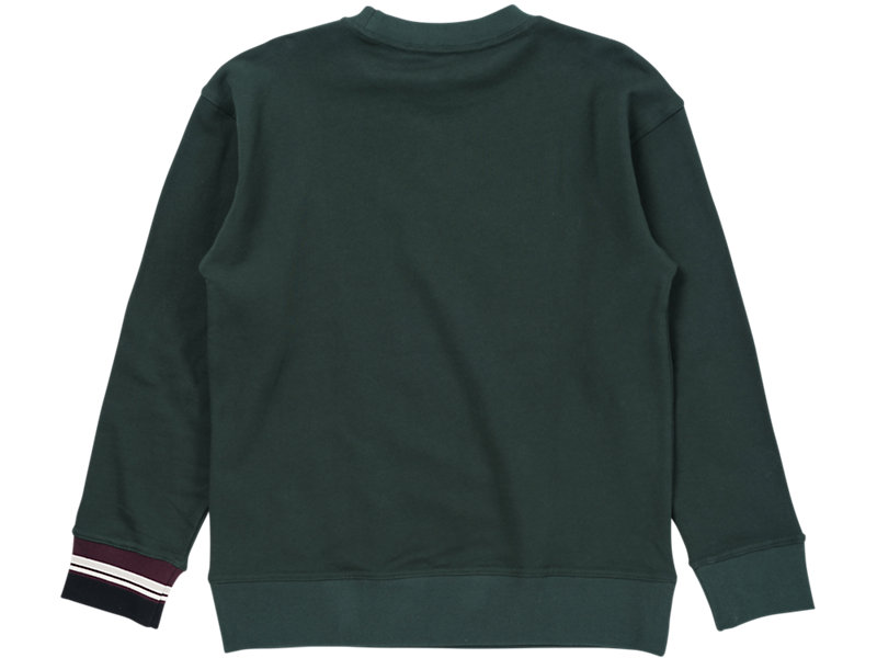 Crew Neck Sweater Hunter Green 5 BK