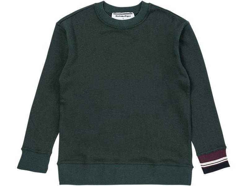 Crew Neck Sweater Hunter Green 1 FT