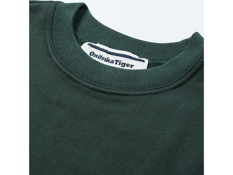 Crew Neck Sweater Hunter Green 9 Z