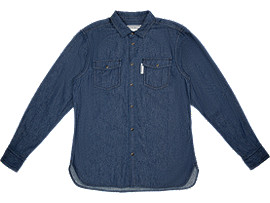 DENIM SHIRT, INDIGO BLUE
