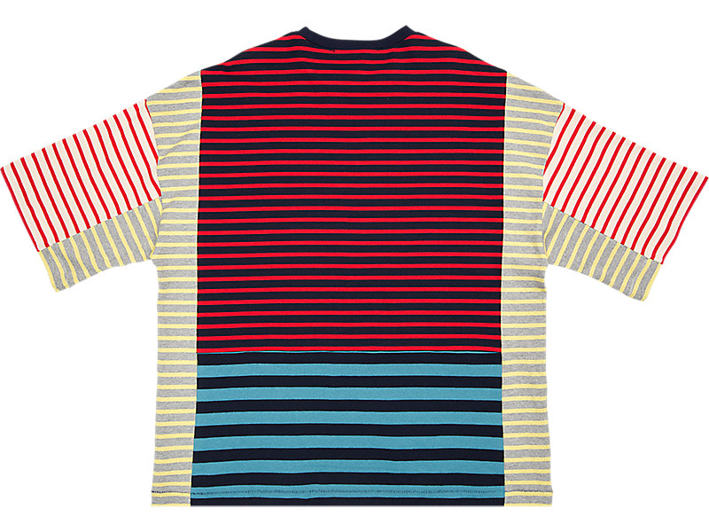 BLOCK TEE RED/NAVY 5 BK
