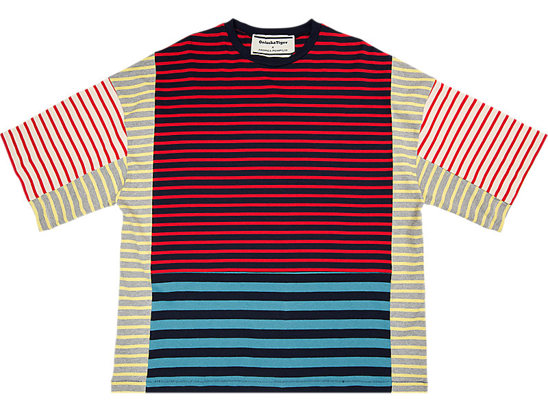 BLOCK TEE RED/NAVY 1 FT