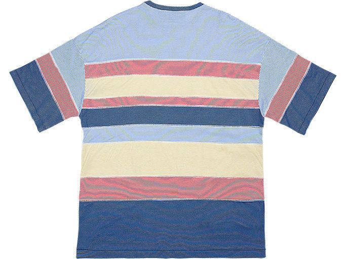 Back view of STRIPED TEE