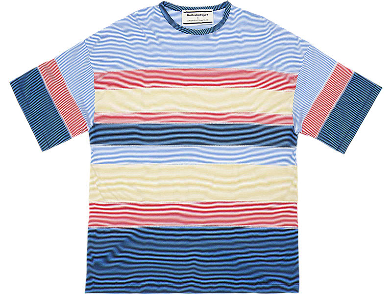 STRIPED TEE PALE BLUE/NAVY 1 FT