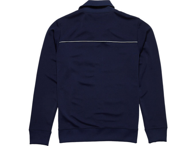 Back view of TRACK TOP, PEACOAT