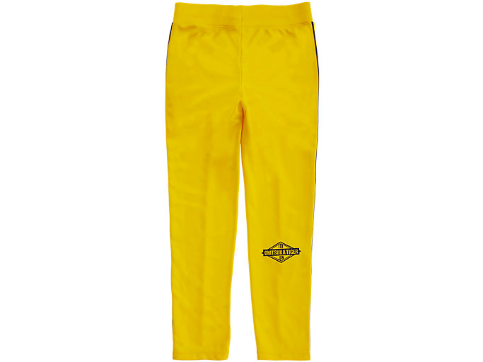 Back view of TRACK PANT, TAI-CHI YELLOW