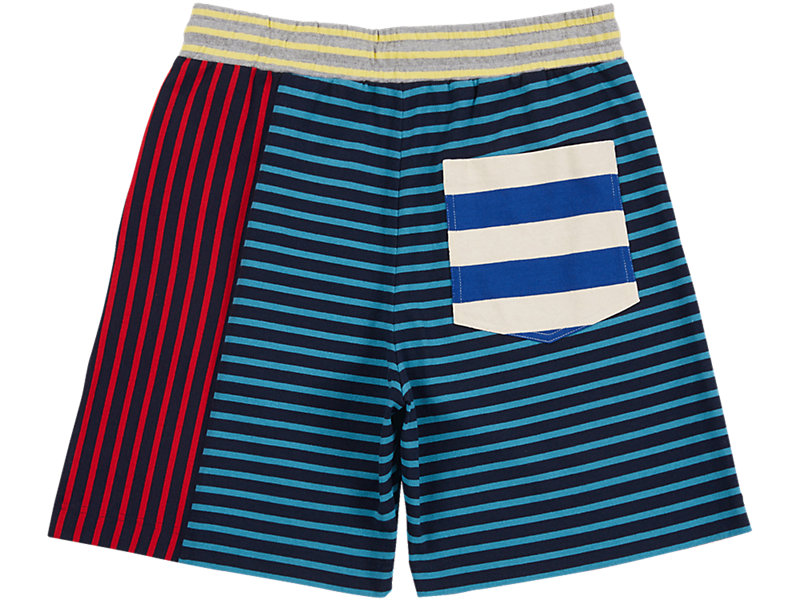 SHORTS RED/NAVY 5 BK