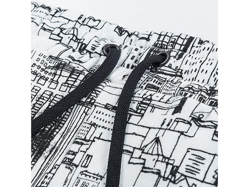 PRINTED PANT WHITE/BLACK 9 Z