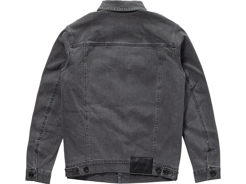 DENIM JACKET GREY 5 BK