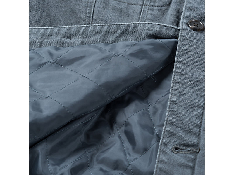 DENIM JACKET GREY 13 Z