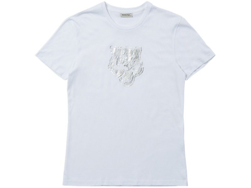 Tiger T-Shirt Real White/Silver 1 FT