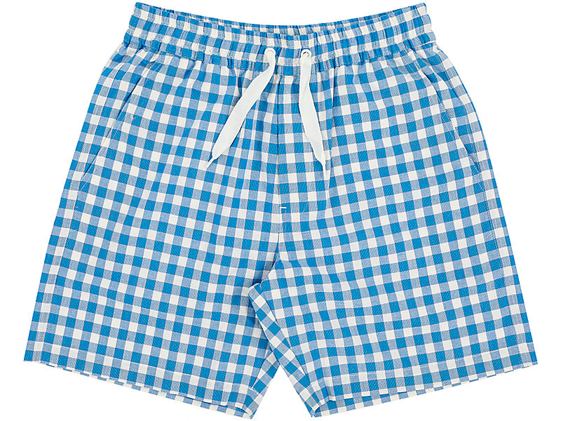 CHECK SHORT BLUE 1 FT