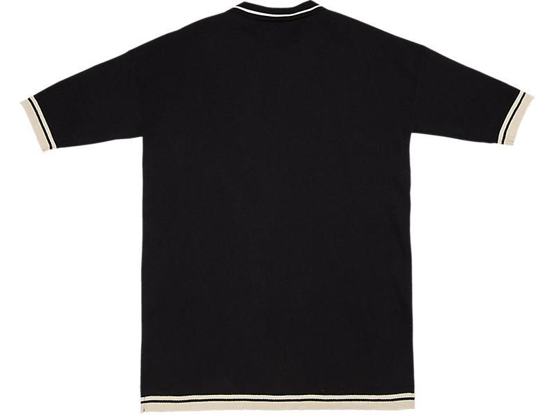 LONG KNIT POLO BLACK 5 BK