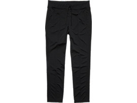 Front Top view of TRACK PANT, PERFORMANCE BLACK