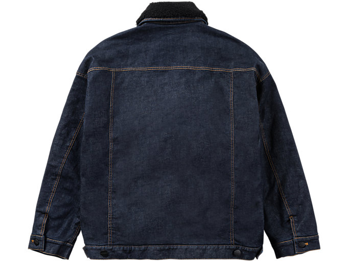 Back view of DENIM JACKET