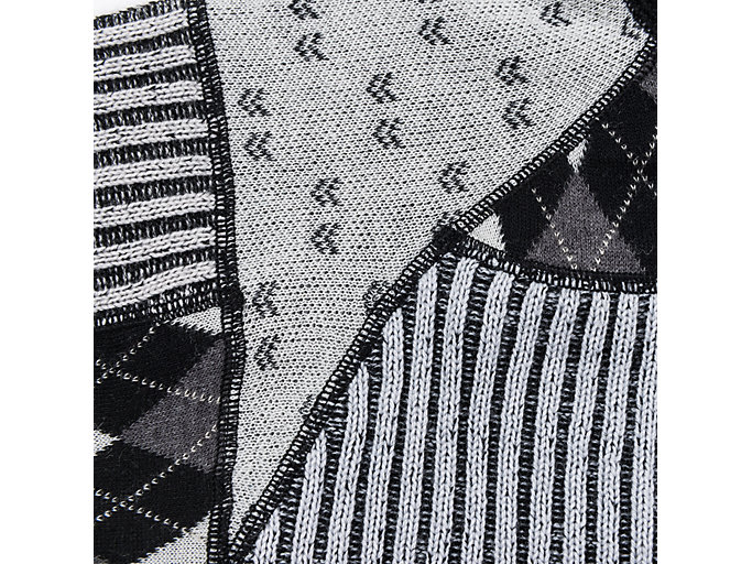 Alternative image view of M ZIP UP KNIT TOP