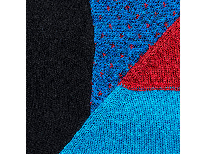 Alternative image view of M HALF ZIP KNIT TOP