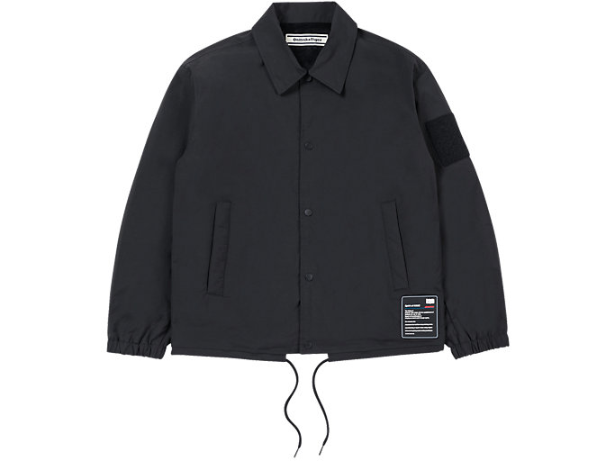 Front Top view of BLOUSON, PERFORMANCE BLACK