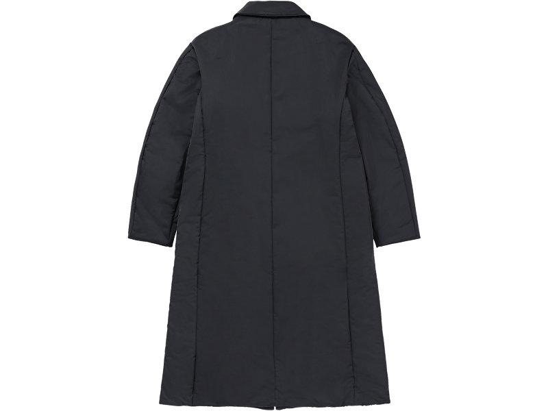 LONG PADDED COAT BLACK 5 BK
