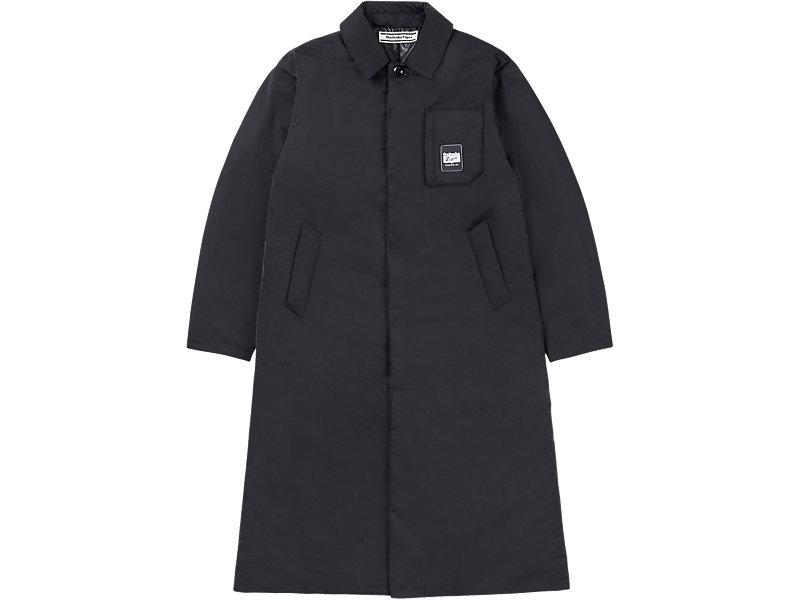LONG PADDED COAT BLACK 1 FT
