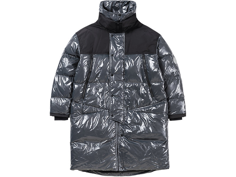 LONG DOWN JACKET BLACK/GREY 1 FT