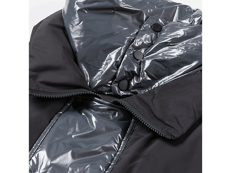 LONG DOWN JACKET BLACK/GREY 9 Z