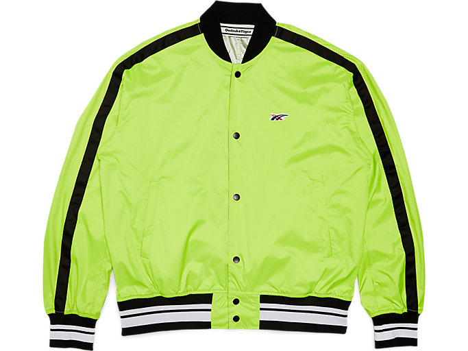 Front Top view of Blouson, SAFETY YELLOW