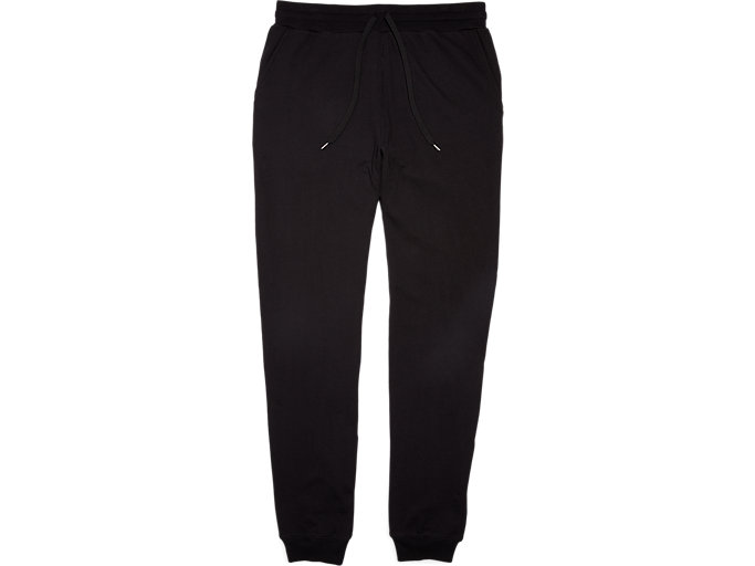 Front Top view of Pantalon Sweat, PERFORMANCE BLACK