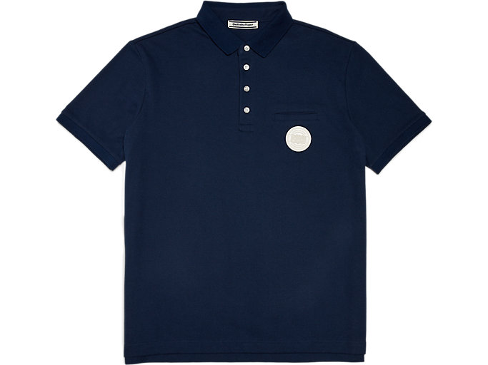 Front Top view of POLO SHIRT, PEACOAT