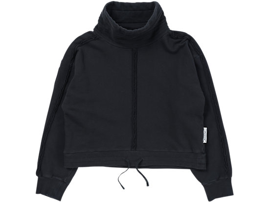 WS WASHED SWEAT BLACK