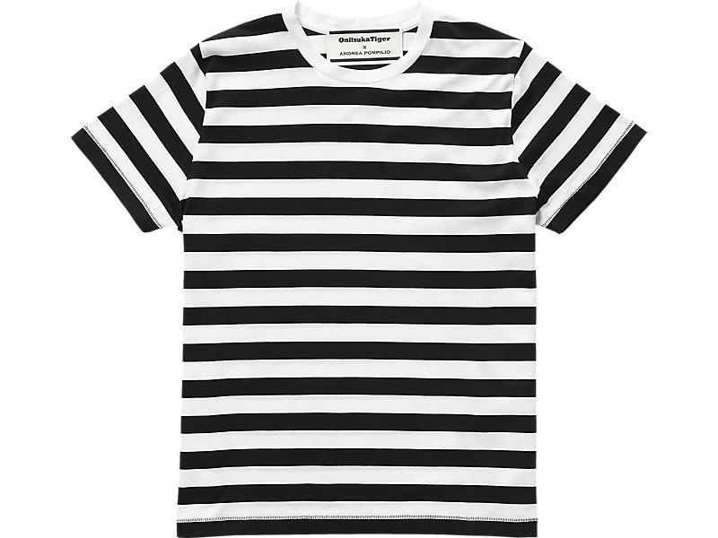 T-SHIRT PERFORMANCE BLACK/REAL WHITE 1 FT