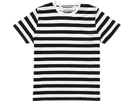 WS T-SHIRT, PERFORMANCE BLACK/REAL WHITE