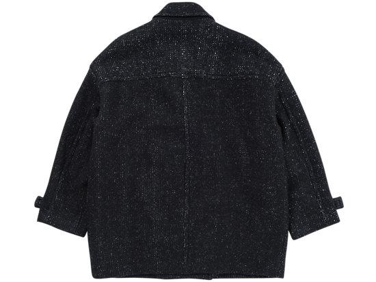 WS OVERSIZED COAT BLACK
