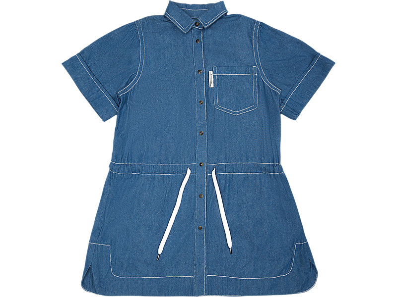WS Denim Dress Directoire Blue 1 FT