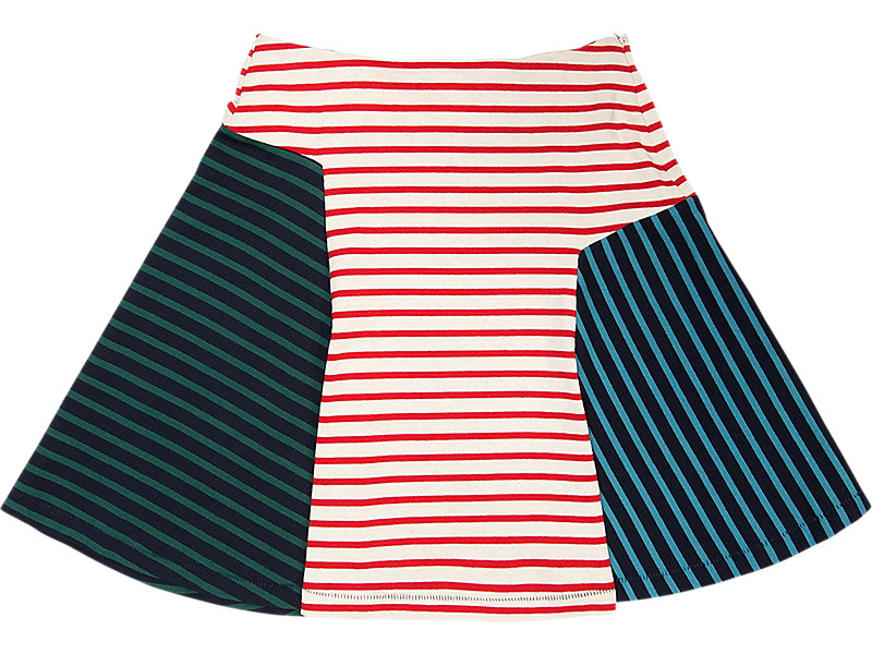 WS SKIRT RED/NAVY 5 BK
