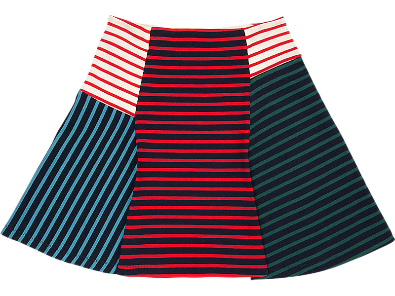 WS SKIRT RED/NAVY 1 FT