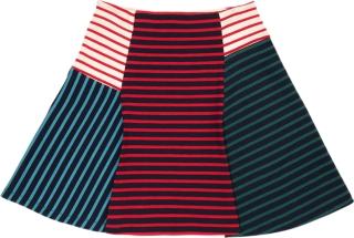女條紋A字裙