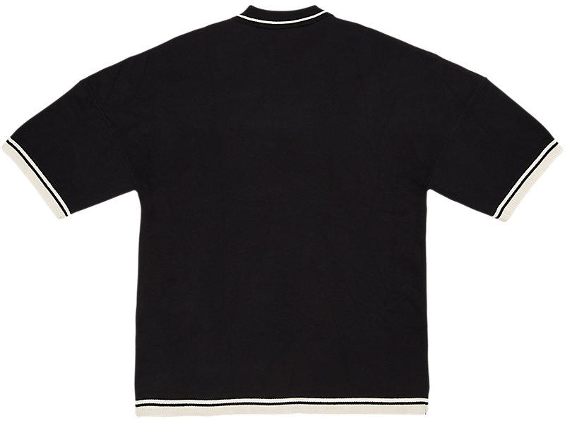 LONG KNIT POLO PERFORMANCE BLACK 5 BK