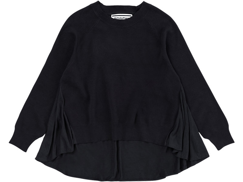 WS Knit Top PERFORMANCE BLACK 1 FT