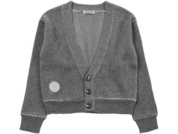 Front Top view of WS KNIT CARDIGAN