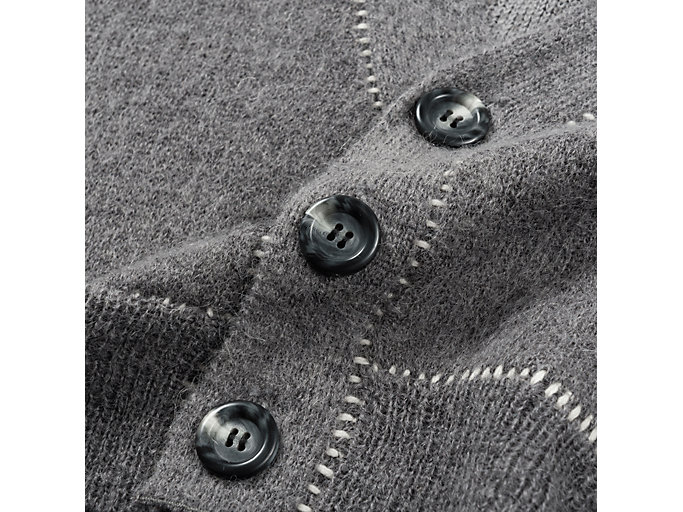 Alternative image view of WS KNIT CARDIGAN