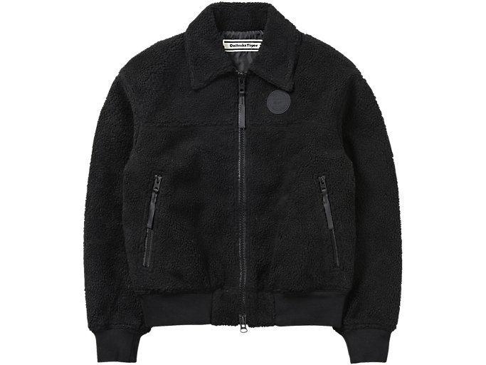 Front Top view of WS BOA JACKET, PERFORMANCE BLACK
