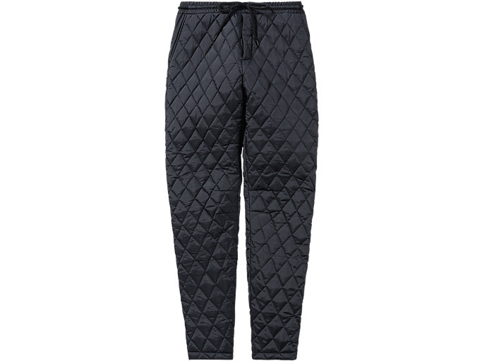 Front Top view of WS QUILTED PANT, PERFORMANCE BLACK