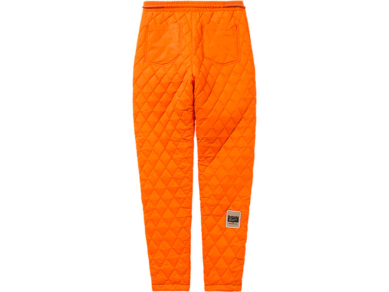 WS QUILTED PANT ORANGE 5 BK